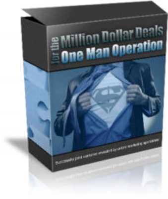 Product picture The Million Dollar Deals-One Man Operation